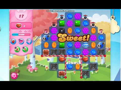 Download Candy Crush Saga Level 3434 -25 Moves- No Boosters