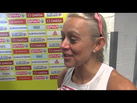 Jenny Meadows 800m Semi - Euro Indoors Prague 2015