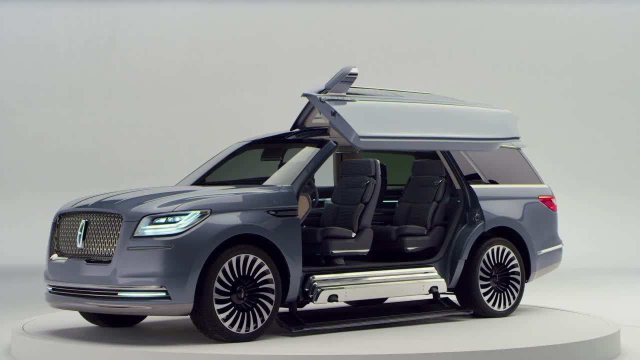 new lincoln navigator concept studio exteriors youtube. Black Bedroom Furniture Sets. Home Design Ideas