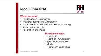 Infovideo Organisation Lehrgang FZP