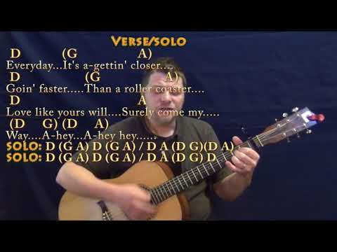 Everyday (Buddy Holly) Strum Guitar Cover Lesson with Chords/Lyrics - Capo 1st