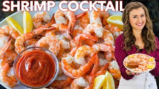 Shrimp Cocktail Recipe - Easy Appetizer in 15 minutes