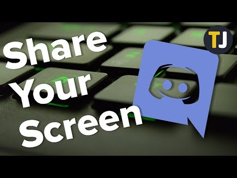 How To Share Your Screen On Discord!