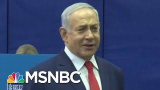 Benjamin Netanyahu's Secret Weapon In Israeli Elections? President Trump. | MTP Daily | MSNBC