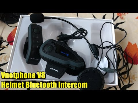 38af05cade0 Vnetphone V8 Bluetooth Intercom with Remote Controller Feature | Don't buy  SENA before watching this - YouTube