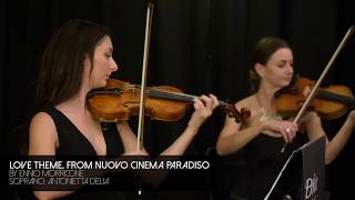Love Theme, E. Morricone - Antonietta D'Elia and Dolce Ensembles