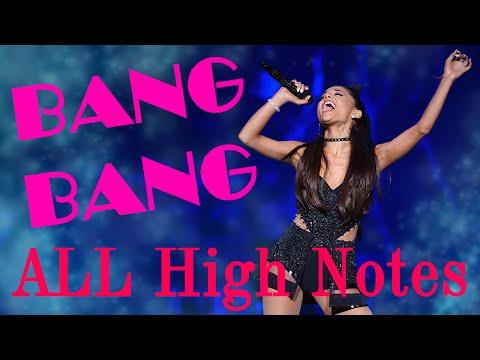"(G5) Ariana Grande's Live ""High Note"" Attempts in Bang Bang 2015"