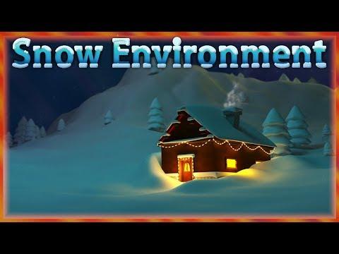 Repeat 3dsmax Winter environment modeling 3d tutorial | low