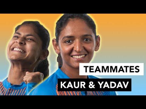 Harmanpreet Kaur and Radha Yadav spill team India secrets   Teammates   Women's T20 World Cup