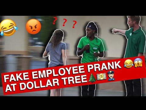 Fake Employee Prank At Dollar Tree !!!😂 Cops Called !!!😡😱👮🏻♂️