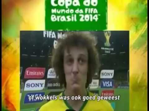 David Luiz weent om chips
