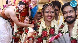 Celebrities At Actor Nakul & Sruti Bhaskar's Marriage Exclusive Video