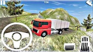 Truck Simulator Hill Climb #3 - Dangerous Truck Hills Driver Android GamePlay FHD