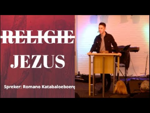 religie of Jezus | Romano Katabaloeboeng