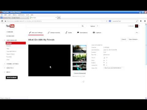 How to Make Your YouTube Video Full Screen