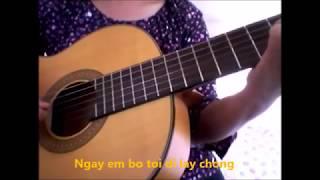 Từ Độ Ánh Trăng Tan _ Nhạc : Anh Bằng, Thơ : Đặng Hiền ( Guitar )
