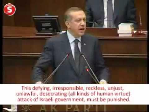 Israel Attacks Gaza Aid Fleet  20 Killed And Erdogan Said: