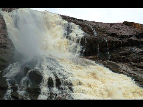Kuntala Waterfall, Adilabad, Telangana, India   Full HD Video