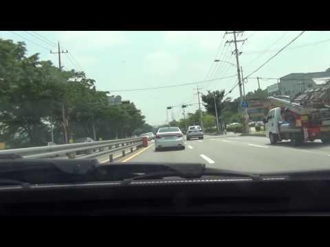 [Timelapse] 서울-부산 국도 드라이브 1부 Seoul - Busan Drive Toll Free Route Part 1: Seoul - Chungju