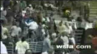 Alabama High School Riot Brawl Carver-Montgomery  Valley  Boys  State  Tournament  Basketball Game