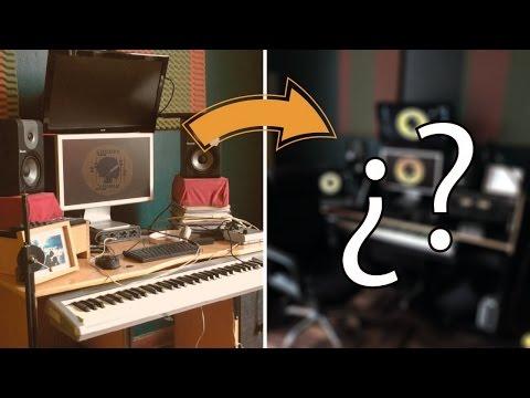 Las transformación de mi estudio de grabación - El Escritorio