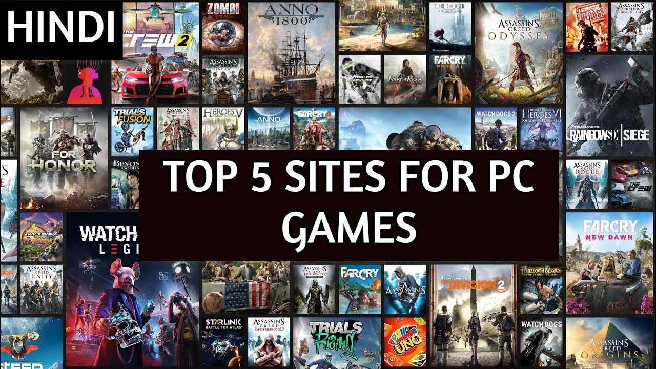 Top Best Sites For Latest Pc Games Download In Hindi  1000% working