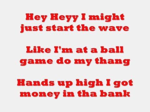 Flo Rida- In The Ayer Lyrics