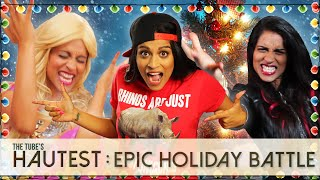 Epic Getting Ready Holiday Battle / Tube's Hautest // I love makeup.