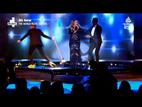 Mariah Carey - Meteorite - Live at The World Music Awards 2014