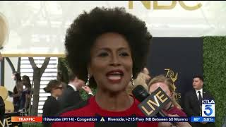 The Emmy Red Carpet Gets Political with Jenifer Lewis, Trevor Noah & Alec Baldwin