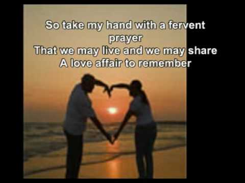 AN AFFAIR TO REMEMBER with lyrics