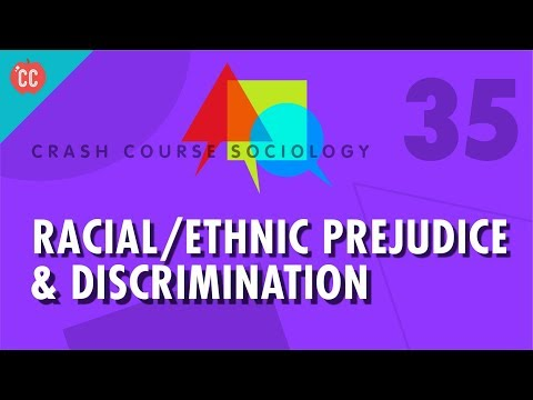 Racial/Ethnic Prejudice & Discrimination: Crash Course Sociology #35