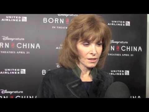 Stefanie Powers at the Born in China Premiere