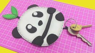 DIY – Porta Chaves Panda Kawaii – Segredos de Aline