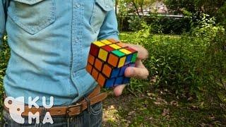 One Handed Rubik
