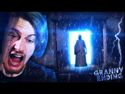 ESCAPING GRANNYS HOUSE FOR GOOD. || Granny (ENDING)