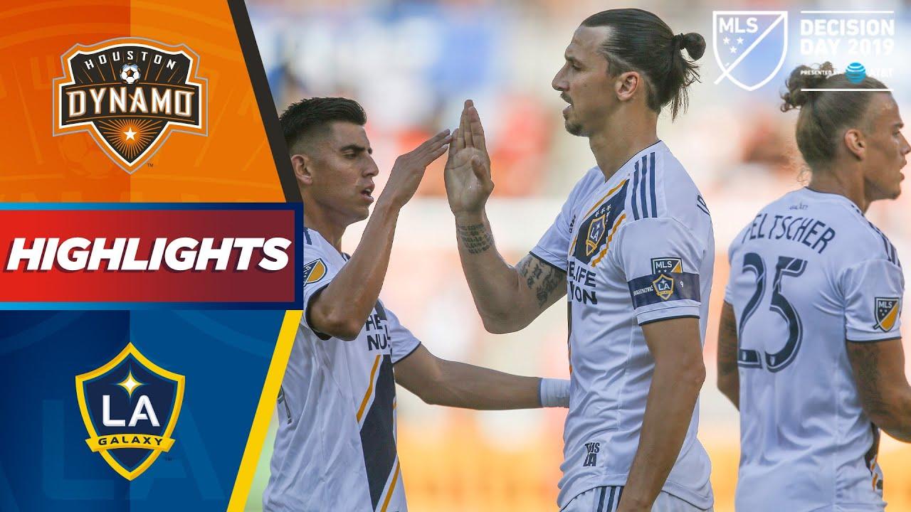 Houston Dynamo Vs La Galaxy La Galaxy Chasing Home Field Advantage Highlights Youtube