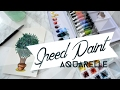 Speed Painting Aquarelle : Mes plantes me parlent !!!