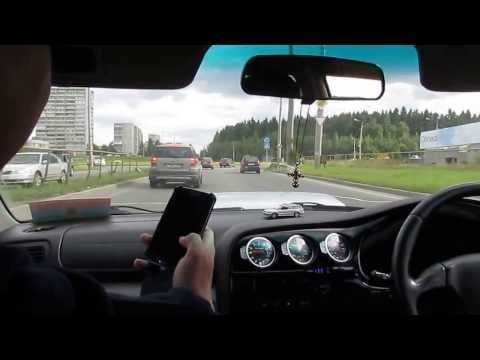 гонки по пробкам. Subaru Legacy Blitzen г. Петрозаводск.