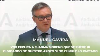 Juanma Moreno se puede despedir del apoyo de VOX si no cumple TODOS los acuerdos pactados