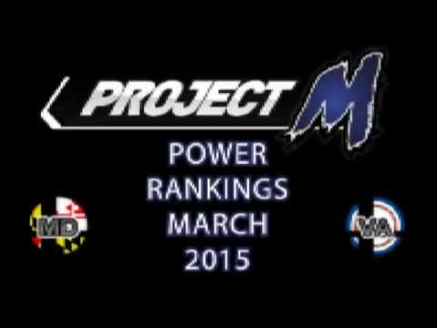 MD VA Project M Power Rankings - March 2015