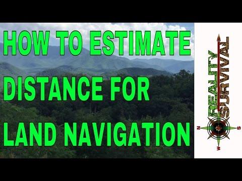 Survival Navigation Tip: How To Estimate Distance