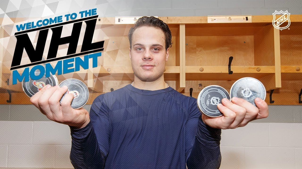 Welcome to the NHL Moment: Auston Matthews