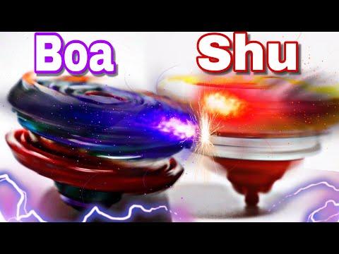 Spryzen Requiem S3 VS Balkesh B3 | Shu VS Boa ANIME BATTLE