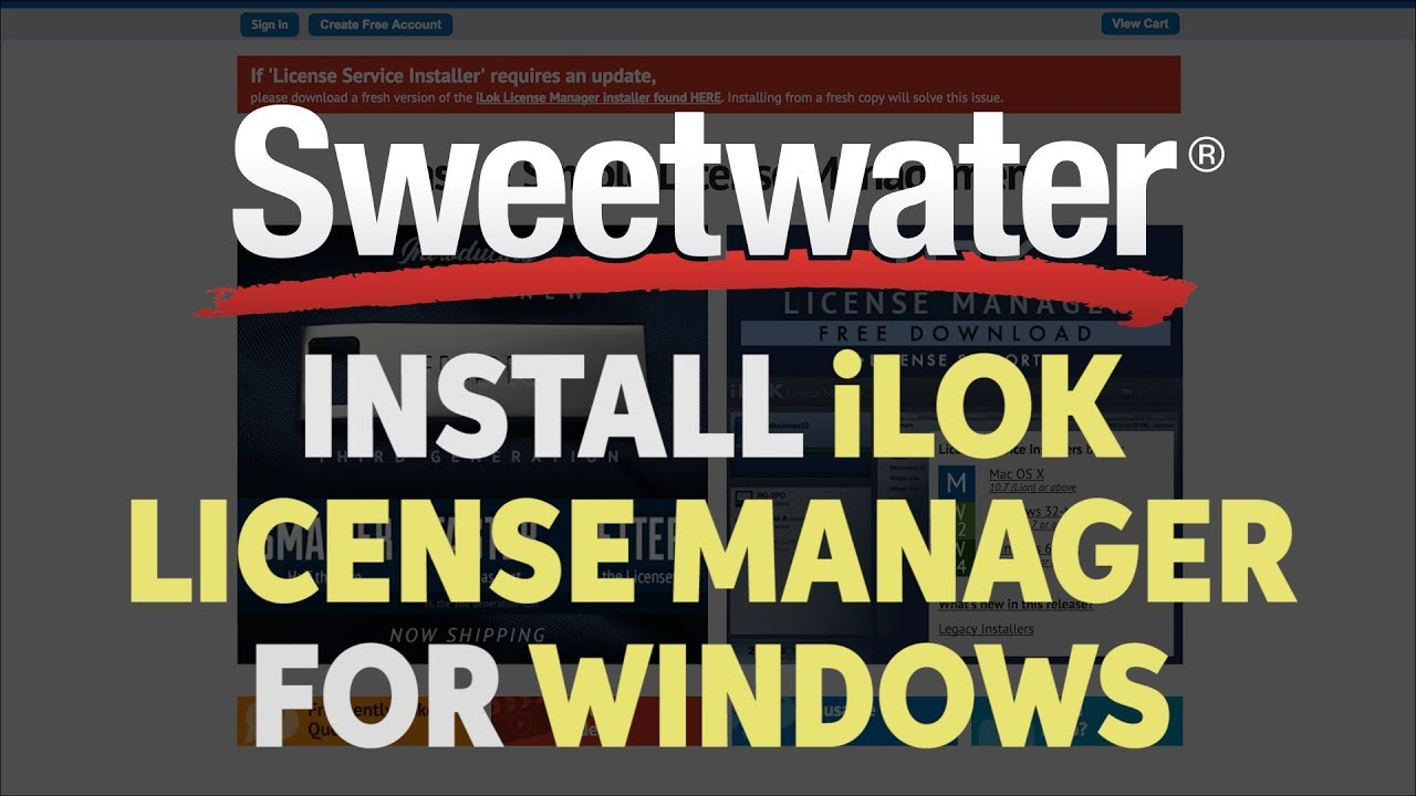 How do I fix problems with iLok License Manager on a PC? | Sweetwater