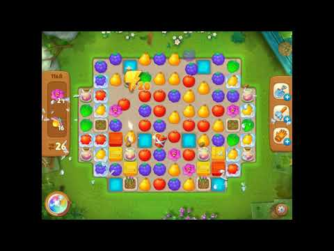Playrix Gardenscapes Level 1168