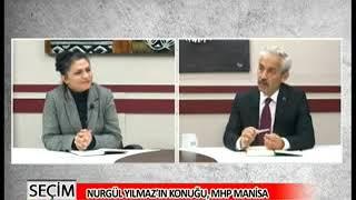 Nurgül Yılmaz İle Seçim 2015 MHP Manisa Milletvekili Aday Adayı Mehmet Kocatürk / 03 Mart 2015