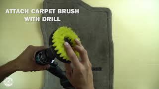 Jak vyčistit auto koberce bez tepovače?