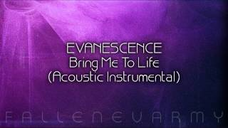 Evanescence - Bring Me To Life (Acoustic Instrumental) by lostpain