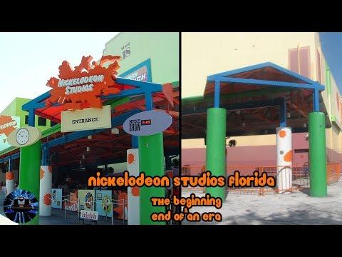 Yesterworld: Nickelodeon Studios Florida: The Beginning & End of an Era